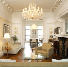Brooklyn Brownstone - traditional - Living Room - New York - WE Design | WE Build