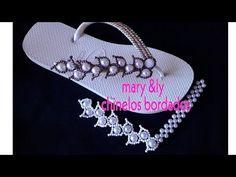 Seed Bead Flowers, Beaded Flowers, Crochet Flowers, Seed Beads, Pearl Bracelet, Diy And Crafts, Jewelery, Flip Flops, Pattern