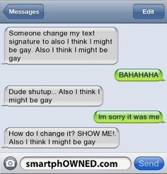 The Web Babbler: Funny Texts #81