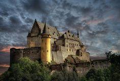 Castle Vianden by Ton   lع Jeune on 500px