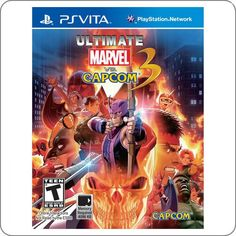 PS Vita Ultimate Marvel Vs Capcom 3 - Game Quest Store