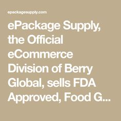 ePackage Supply, the Official eCommerce Division of Berry Global, sells FDA Approved, Food Grade, & BPA Free Industrial Grade Buckets, Containers, Cups & Jars. Buckets, Food Grade, Division, Ecommerce, Jars, Berry, Industrial, Paint, Storage