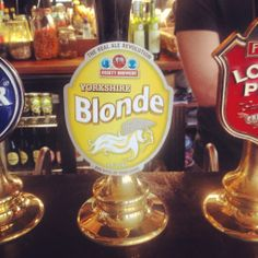 Rich's from Yorkshire and of course blond so it seem perfect for her.