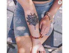 20 idées de tatouages mandala pour filles zen - Pinterest
