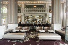 The Livingston Bar inside the Georgian Terrace Hotel in Atlanta, built in 1911.