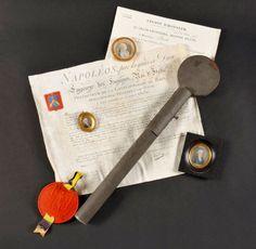 Brevet d'anoblissement du chevalier Boery