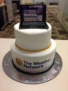 Weather Network wedding cake?!