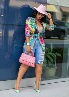 Darla- Long Sleeve Blazer/Jacket (New) – DivAbby African Print Fashion, African Fashion Dresses, Ankara Fashion, Africa Fashion, African Prints, African Fabric, Classy Outfits, Stylish Outfits, Cute Outfits