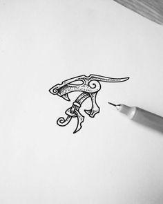 Rune Tattoo, Norse Tattoo, Viking Tattoos, Viking Designs, Celtic Designs, Body Art Tattoos, Sleeve Tattoos, Traditional Tattoo Black And White, Scandinavian Tattoo