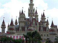 Princess Belle's castle