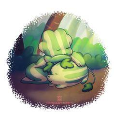 Steven Universe: Melon Naps by Shrineheart