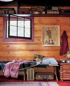 Teeny Adirondack Cabin