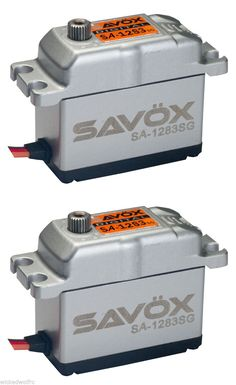 Servos and Servo Accessories 56615: Savox Sa-1283Sg Aluminum Case Digital Super-Torque Steel Gear Servo Savsa1283sg -> BUY IT NOW ONLY: $92.5 on eBay!