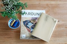 DIY LEATHER NOTEBOOK COVER « a pair