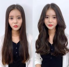 • 3) Hair만으로도 다른사람이~? 헤어스타일 전/후 : 네이버 블로그 Korean Hairstyles Women, Asian Men Hairstyle, Modern Hairstyles, Permed Hairstyles, Pretty Hairstyles, Braided Hairstyles, Japanese Hairstyles, Asian Hairstyles, Long Wavy Hair