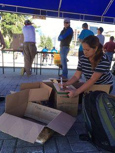 Donations from different provinces of Ecuador  #EarthquakeInEcuador #EcuadorEarthquake #Ecuador #SismoEcuador #EcuadorListoYSolidario #Sismo #TerremotoEcuador #PrayForEcuador