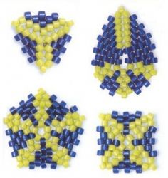 Geometric shapes of beads tutorials - a variety.  #Seed #Bead #Tutorials