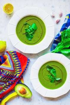Green Smoothie Soup
