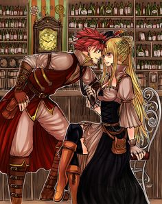 Ah... Steampunk NaLu... Perfection!