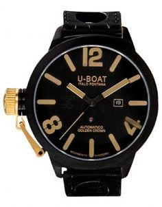 1215 U-Boat Gold Watches Classico Golden Crown 53 AB 18K Y 1