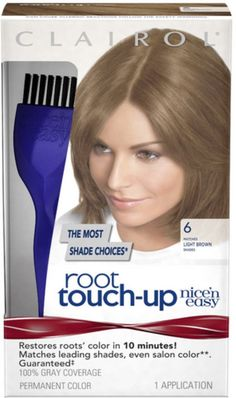 Nice 'n Easy Root Touch-Up, Light Brown [006] 1 ea (Pack of 6) -- To view further for this item, visit the image link.