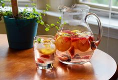 Strawberry Mint SpaWater - Home - A Sweet Simple Life