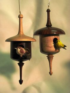 birdhouse ornaments christmas | Birdhouse Christmas Ornaments - by Ken Waller @ LumberJocks.com ...