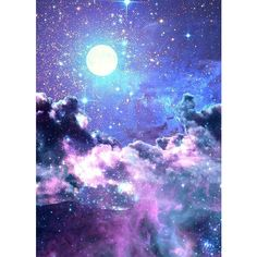 Starry nights ❤ liked on Polyvore featuring backgrounds