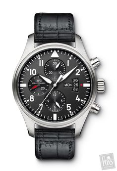 IWC PILOTS WATCH CHRONOGRAPH  IW377701