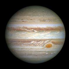 Júpiter de Hubble y la Gran Mancha Roja que se encoge