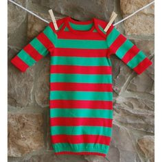 Match Big Brother or Big Sister with our Infant Christmas Gown. Monogrammed  or Appliqué Available. 48343ce7a