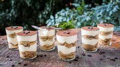 Dezert z Itálie: Bleskové tiramisu za 10 minut hotové No Bake Desserts, Cheesecake, Deserts, Food And Drink, Pudding, Sweets, Baking, Ethnic Recipes, Pastries