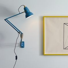 Anglepoise Original 1227 Brass Wall Mounted Lamp - Anglepoise - GR Shop Canada