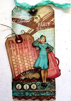 yaya scrap & more: Tag travel per Sketchalicious!