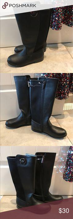 MICHEAL KORS 📦MK 🙌🏽Brandnew MK 🐎BLACK RIDING BOOTS🐎 Michael Kors Shoes Rain & Snow Boots