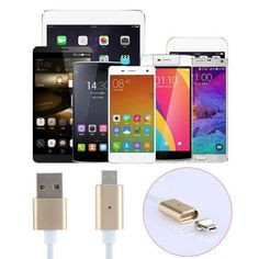Smart Charging Cable Device: iPhone and Android Phones Style : Metal Braided Cable Charging Port: Micro USB Color: Show as pictures.