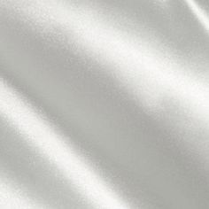 I could also use this white satin fabric as an underlayer under the black striped mesh Bridal Fabric, Shades Of White, White Satin, White Cotton, Color Swatches, Fashion Fabric, White Fabrics, Discount Designer, Satin Fabric