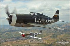 P-47 & P-51