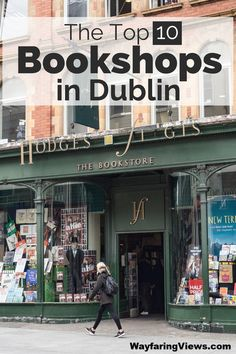 Find the best bookstores in Dublin with this curated guide from a former bookseller. Top 10 bookshops | Things to do in Dublin | Bookstores | Literary travel | Things to do in Ireland| #dublin #ireland #bookstores