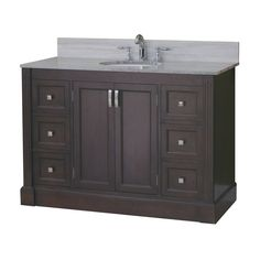 allen + roth Espresso Kingsway Traditional Bath Vanity at Lowe's Canada Curling Iron Holder, Traditional Baths, Bathroom Renos, Bathrooms, Bath Vanities, Allen Roth, Double Vanity, Drawers, Hardware