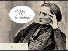 """Happy Birthday"" in the style of Bach, Mozart, Beethoven, Mendelssohn, Chopin, Liszt, Dvorak, and Stravinsky."