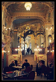 Cafe' New York in Budapest, Hungary | Flickr - Photo Sharing!