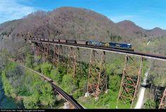 RailPictures.Net Photo: CSXT 3007 CSX Transportation (CSXT) GE ES44AC at Speers Ferry, Virginia by Chris Starnes