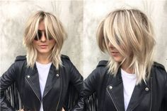 Julianne Hough's New Haircut and Color Are Everything You Need for Spring - a new more-defined shape for shoulder-grazing layers