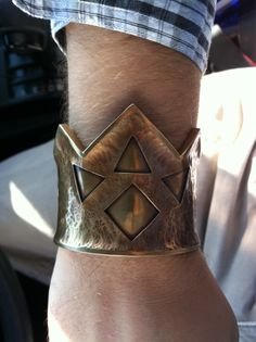 Real life Goron bracelet from The Legend of Zelda.
