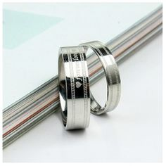 forever love Titanium Steel Couple Rings Popular Rings Titanium Steel Jewelry Wholesale China Jewelry