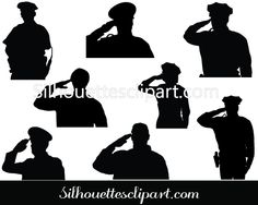 Police Silhouette Vector Graphics Download
