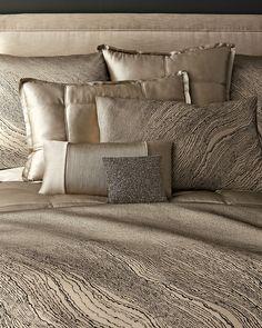 Donna Karan Home Modern Pulse Bedding Donna Karan Bedding, Home Modern, Luxury Bedding Sets, Bedroom Bed, Bedrooms, Contemporary Bedroom, Soft Furnishings, Bed Spreads, Bedding Shop