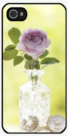Case for Iphone 5/5S - Rose in a vase - by UtArt
