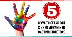 5 Ways To Standout & Be Memorable To Casting Directors Amy Jo Berman – Tips…